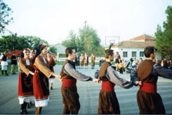 Agios Georgios, folk dance AGIOS GEORGIOS (Village) GIANNITSA